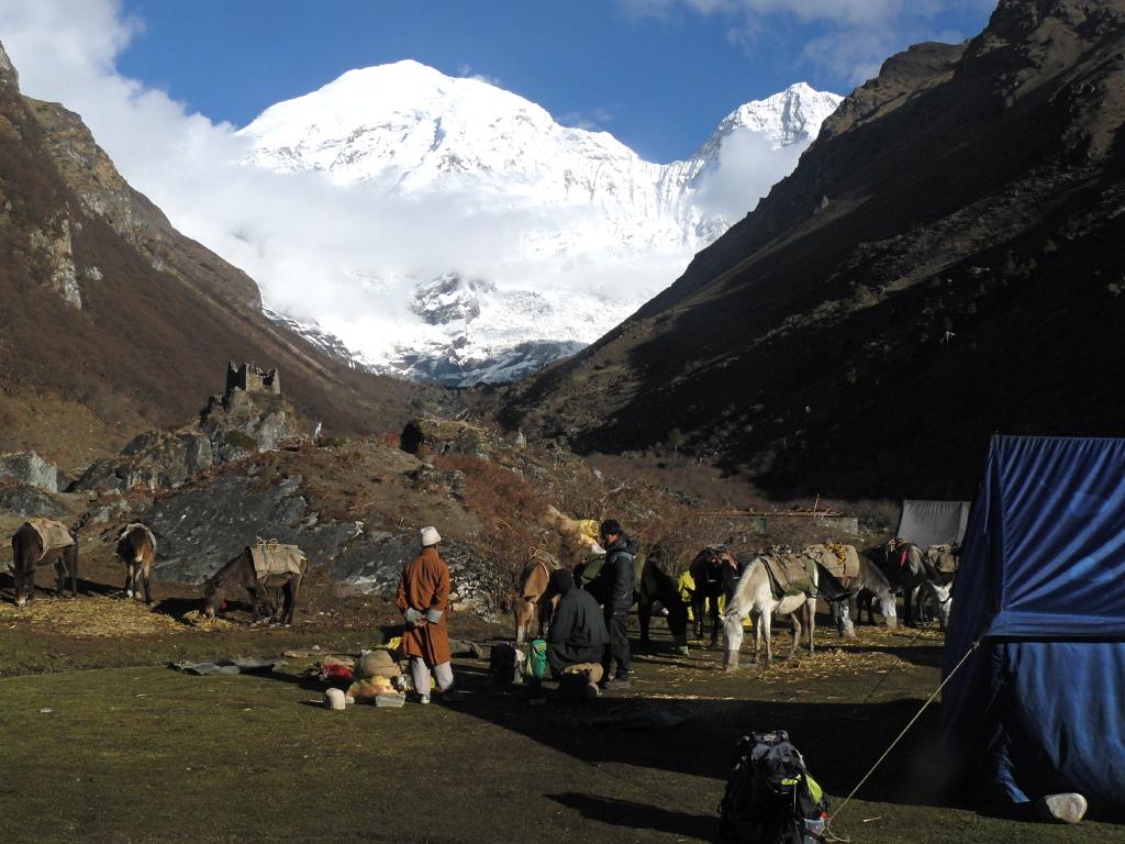 snow man trek -  Bhoutan